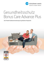 Prospekt Bonus Care Advance